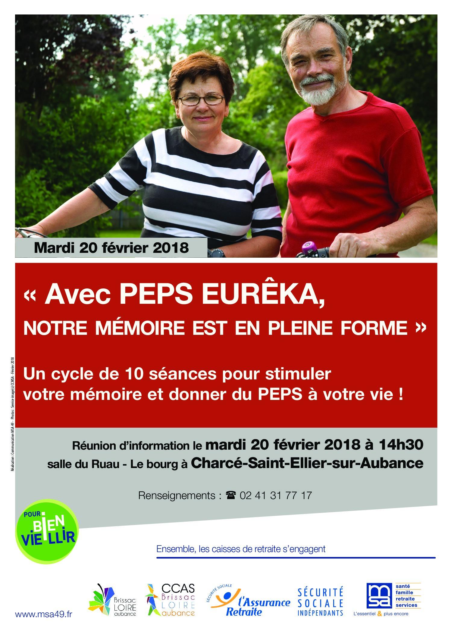 Affiche PEPS eureka Brissac