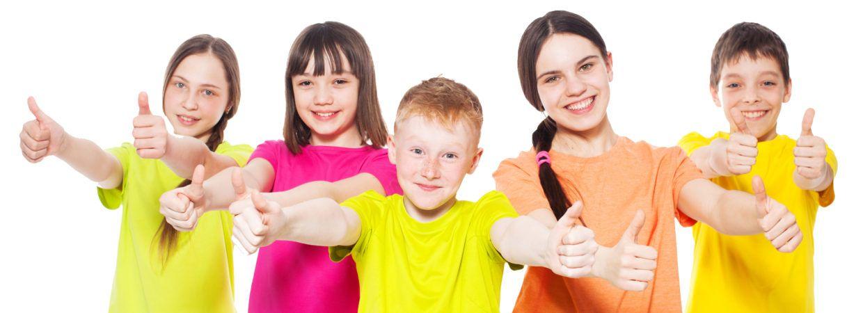 Group children in school