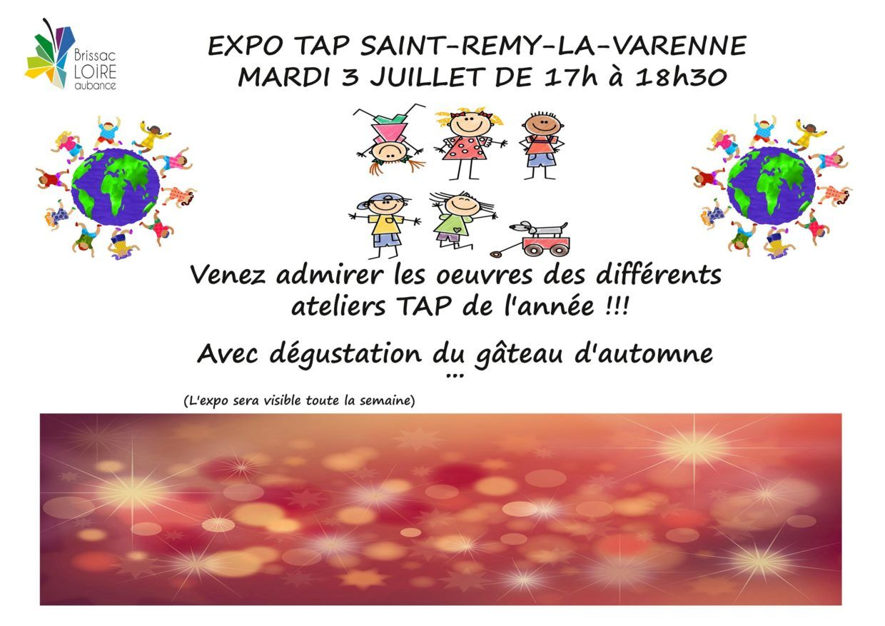 affiche tap st remy