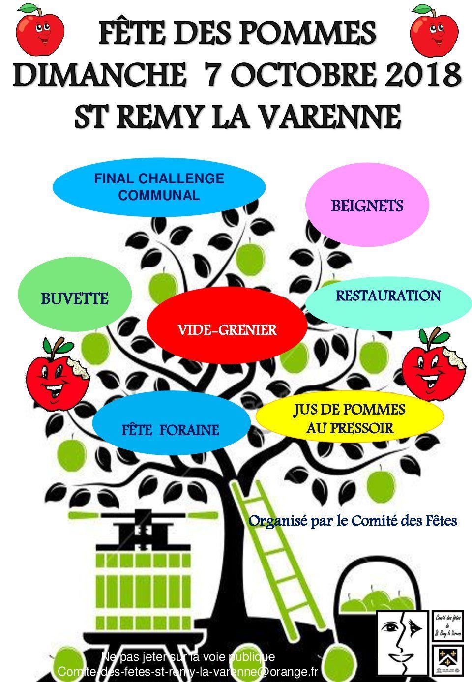 FETE DES POMMES – St Rémy La...